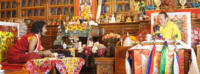 Yongey Mingyur Rinpoche und Khenting Tai Situ Rinpoche. Foto: Paul McGowan