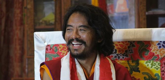 Yongey Mingyur Rinpoche nach seiner Rückkehr aus dem Retreat in Indien.  Foto: Paul McGowan