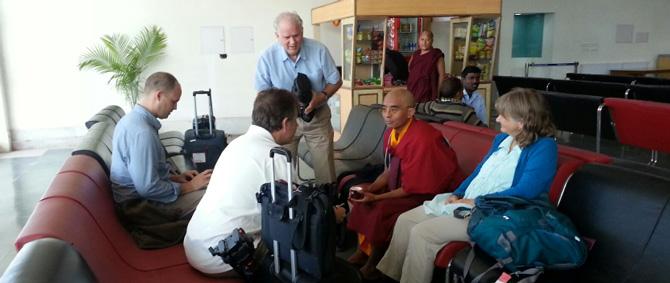 Yongey Mingyur Rinpoche mit den Tergar Instruktoren. Foto: Tergar International