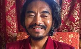 Mingyur Rinpoche kehrt aus dem Retreat zurück, November 2015