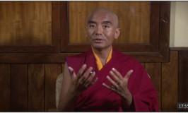 Mingyur Rinpoche gibt seine erste Video-Unterweisung nach seiner Rückkehr, November 2015
