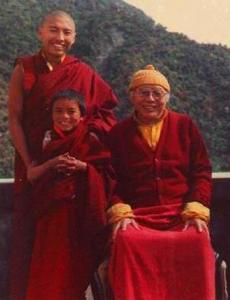 Tulku Urgyen Rinpoche, Tsoknyi Rinpoche und Mingyur Rinpoche
