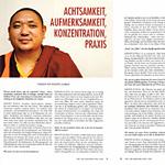 Khenpo Kunga im Interview über die Praxis der Meditation